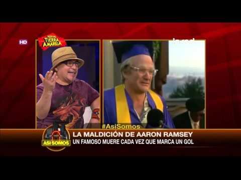 Aaron Ramsey: El futbolista que mata famosos