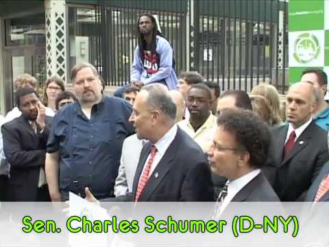 Sen. Charles Schumer calls for greater federal role in funding transit operations