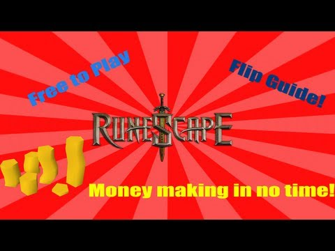 Runescape Fliping Guide [MAY] 2013