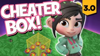 Disney Infinity 3.0 - How to Build a Cheater Box w/Vanellope (Toy Box Adventures)