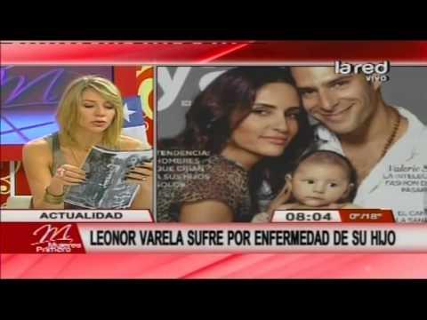 Leonor Varela sufre por grave enfermedad de su hijo