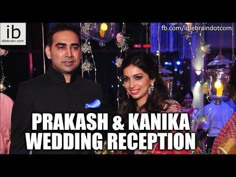 Prakash and Kanika wedding reception - idlebrain.com