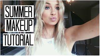 Summer Makeup Tutorial | Simple Glowy Summer Makeup Look