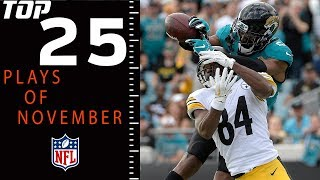Top 25 Plays of November | NFL 2018 Highlights