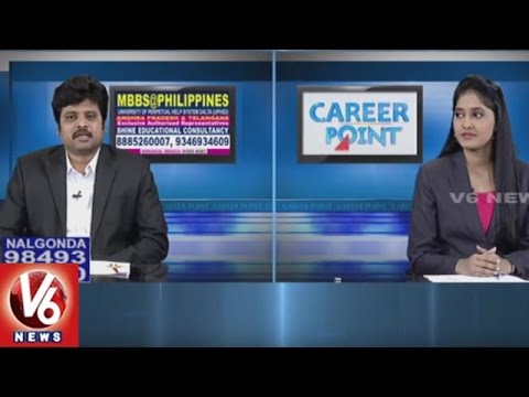 MBBS In Philippines | Shine Educational Consultancy | Career Point | V6 News