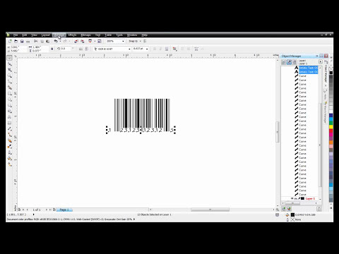 Creating Barcodes in CorelDRAW Graphics Suite X6