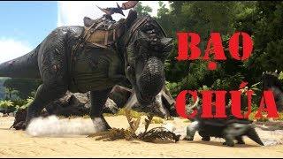 Ark survival evolved - Hành trình gian nan đi bắt khủng long bạo chúa T-rex|GHTG