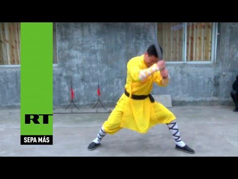 Video impactante: Nada puede con este maestro de kung-fu shaolín