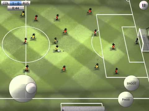 Stickman Soccer - Colombia 2 / Russia 0