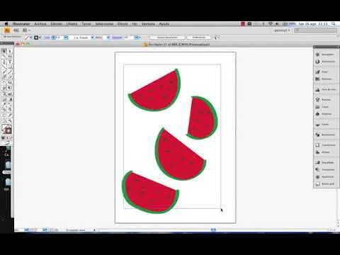 Adobe Illustrator herramienta pincel parte1.© UPV