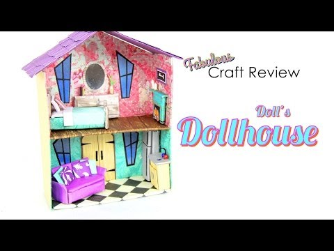 Craft Review:  Doll's Dollhouse