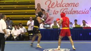 13th World Wushu Championships, Sanda Men 65kg IRI.v.CHN r1