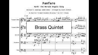 Fanfare - Hark the Herald Angels Sing [Album Version] Brass Quintet