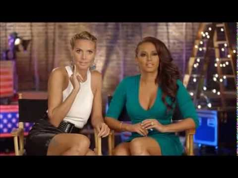 Mel B & Heidi Klum : America's Got Talent Ladies