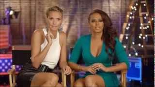 Mel B & Heidi Klum : America
