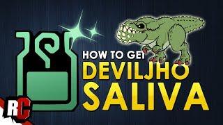 How to get Deviljho SALIVA | Monster Hunter World (Deviljho armor/weapon materials)