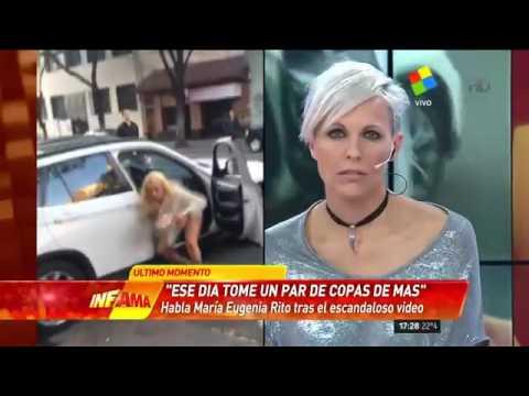 María Eugenia Ritó: Ese día tomé un par de copas de más como cualquier ser humano