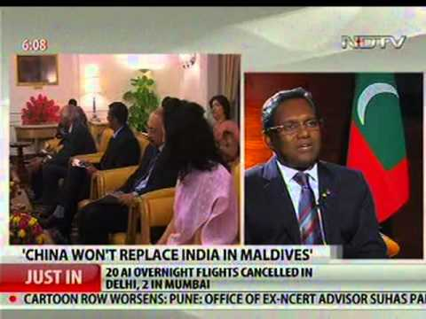 President Of Maldives Fr. Waheed's visit to india