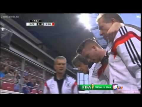 Out for World Cup  Marco Reus injury vs Armenia