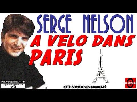 A VELO DANS PARIS - Serge Nelson