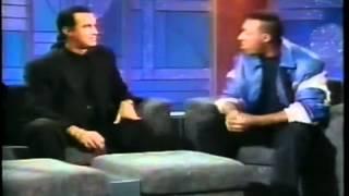 Van Damme vs Steven Seagal.