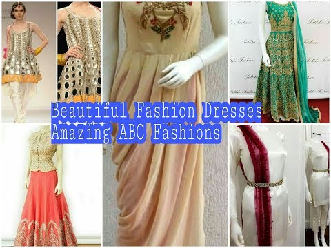Beautiful Creative Designer Dresses Collection,New Trending Designs