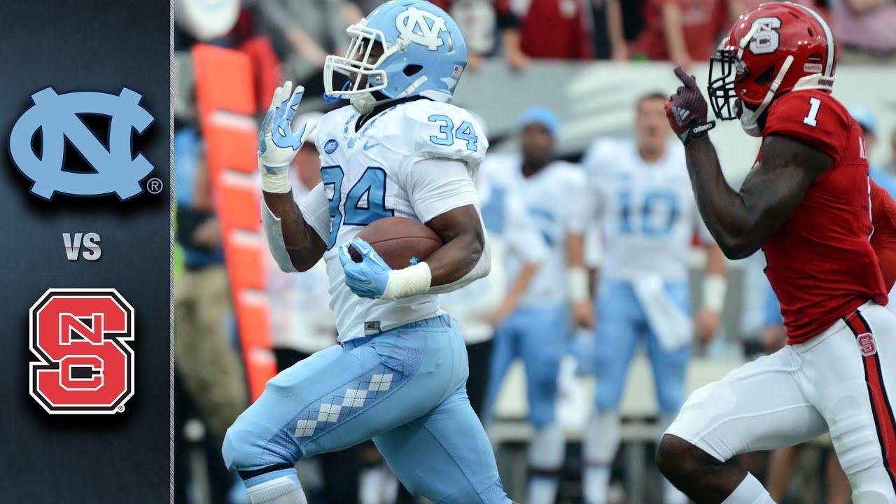 North Carolina vs. NC State Football Highlights (2015)