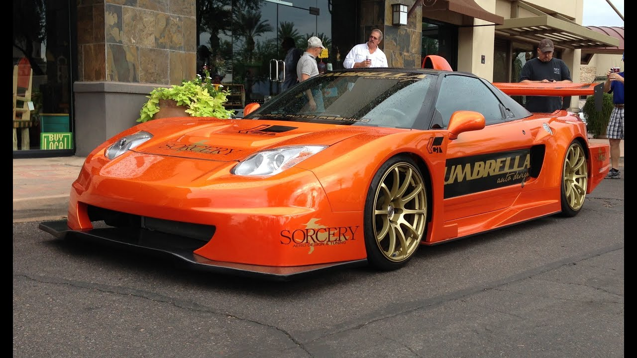 Highly Modified Wide Body Acura Nsx By Umbrella Auto