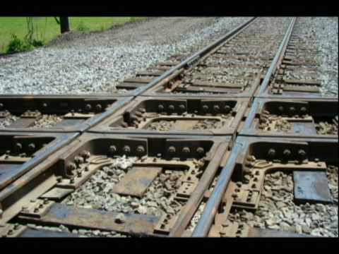 Norfolk Southern Crosses CSX Train Tracks