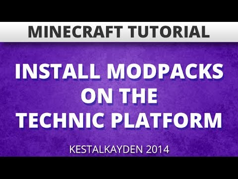 ★ How to Install a Technic Modpack on Technic Launcher (1.7.2) (Minecraft Tutorial)