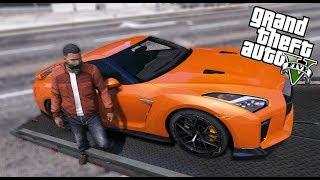 GTA 5 - Nhiệm vụ đi trộm siêu xe tiền tỷ Nissan GTR | ND Gaming