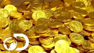How Chocolate Coins Are Made | How It's Made