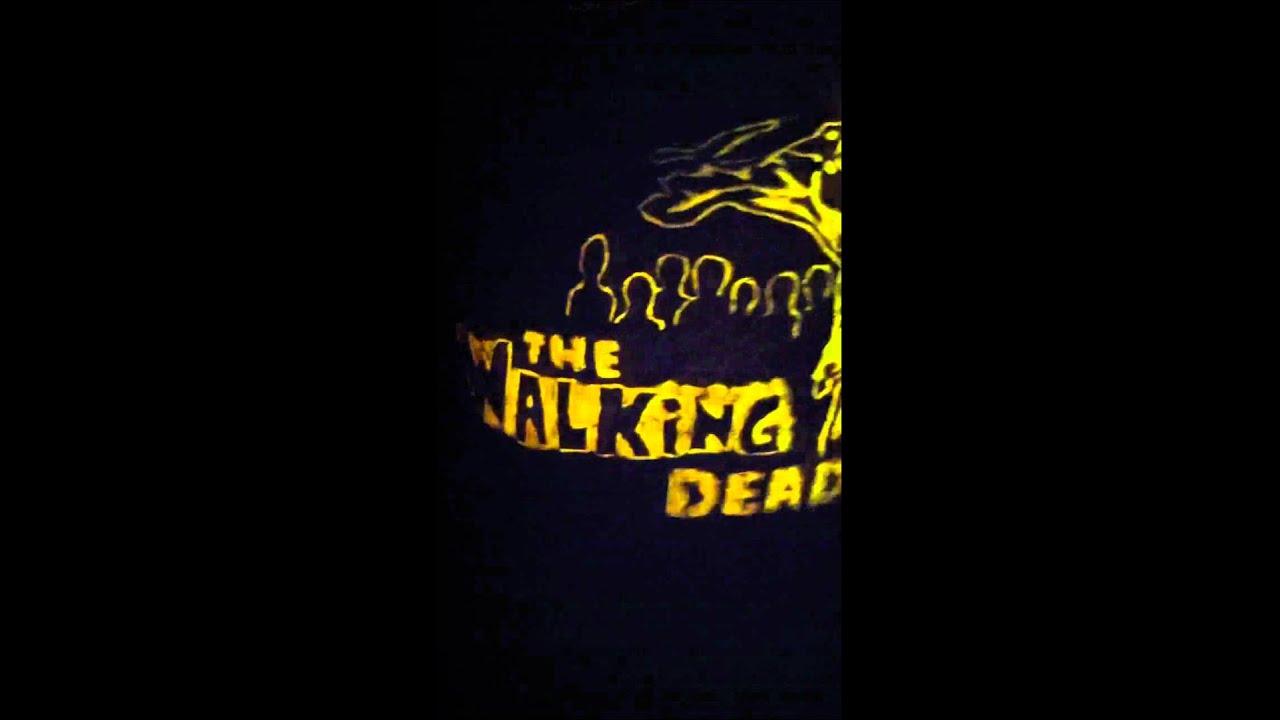 Walking Dead Pumpkin Daryl