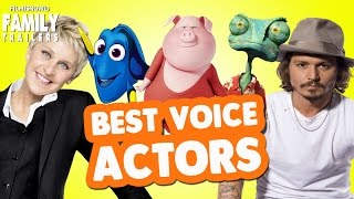 Top 10 Celebrity Voice Actors from Animated Family Movies
