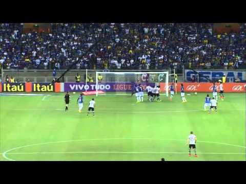 08-10-2014 - Cruzeiro 0x1 Corinthians - Melhores Momentos - Brasileirão
