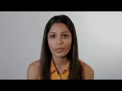 Freida Pinto speaks up for girls' rights