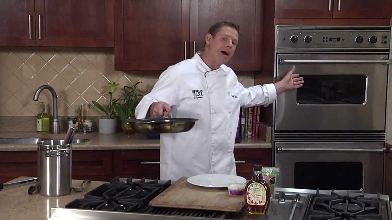 Wegmans Pan-Seared Chicken with Apple Maple Gravy - YouTube