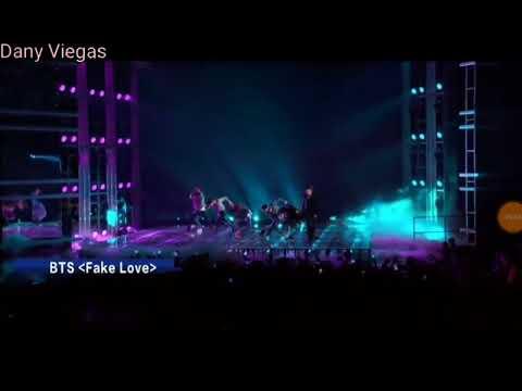 Bts FAKE LOVE -BILLBOARD MUSIC AWARDS 2018