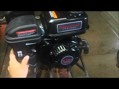 Harbor Freight Honda Clone (Predator) Engine Unboxing. First Impressions. and Startup