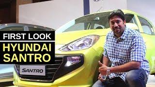New Hyundai Santro Detailed Walkaround Review in Hindi   Hinglish   English