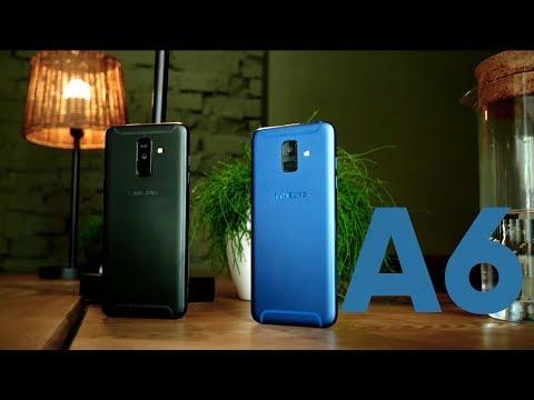 Первый обзор Samsung Galaxy A6 и A6+ (2018)
