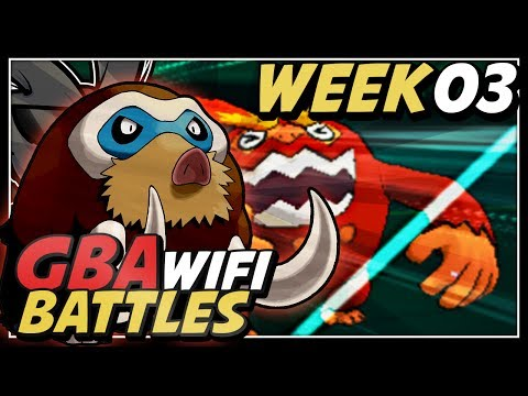 Pokemon X and Y Wifi Battle GBA Week 03 Vs Pittsburgh Steelix - Nature of the Game