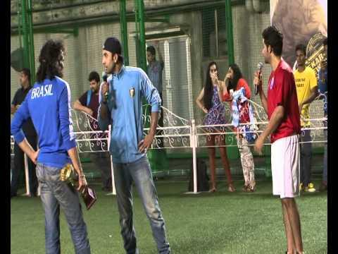 Football Match Between Ranbir Kapoor And Armaan Jain For Movie Lekar Hum Deewana Dil 3