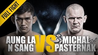 ONE: Full Fight | Aung La N Sang vs. Michal Pasternak | Intense Battle | October 2016
