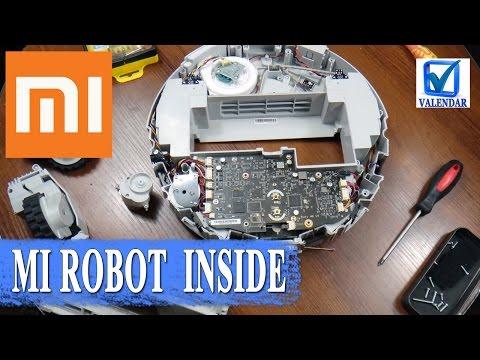 Что внутри Xiaomi Mi Robot, разобрать умный робот пылесос, ремонт