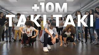 Dj Snake Taki Taki Ft Selena Gomez Ozuna Cardi B Dance Choreography