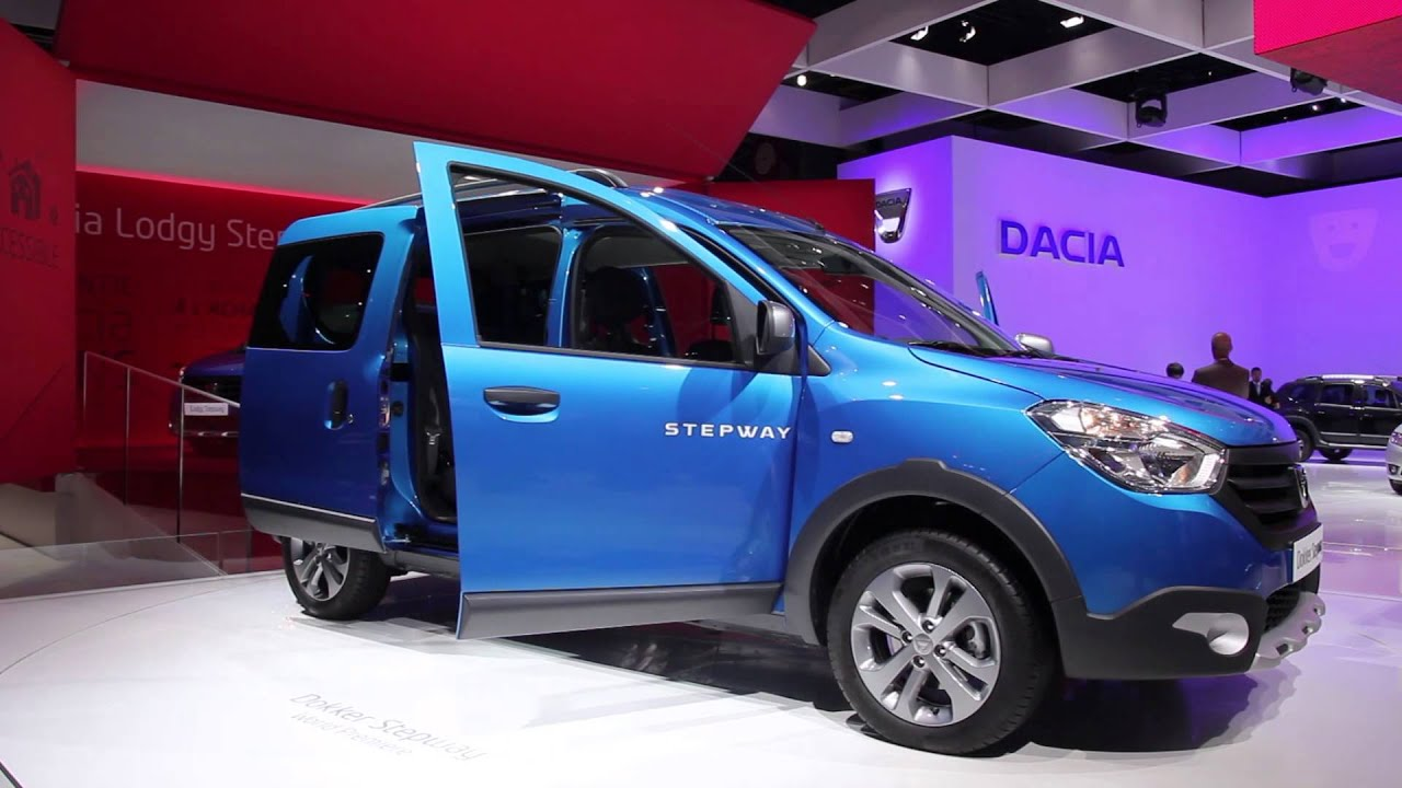 dacia dokker stepway official launch paris 2014 youtube. Black Bedroom Furniture Sets. Home Design Ideas
