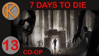 Cleaning Up The House For The Zombie Party - 7 Days To Die Co-Op Part 13