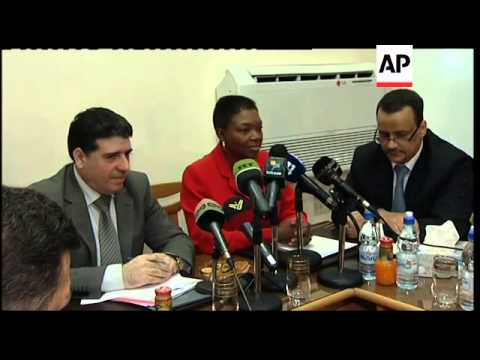 UN humanitarian chief meets Syrian health minister; sbites