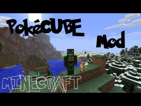Minecraft Mod Showcase: POKECUBE MOD!!!